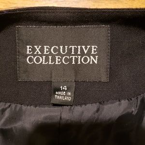 Executive Collections Skirts - Executive Collections Blazer and skirt set